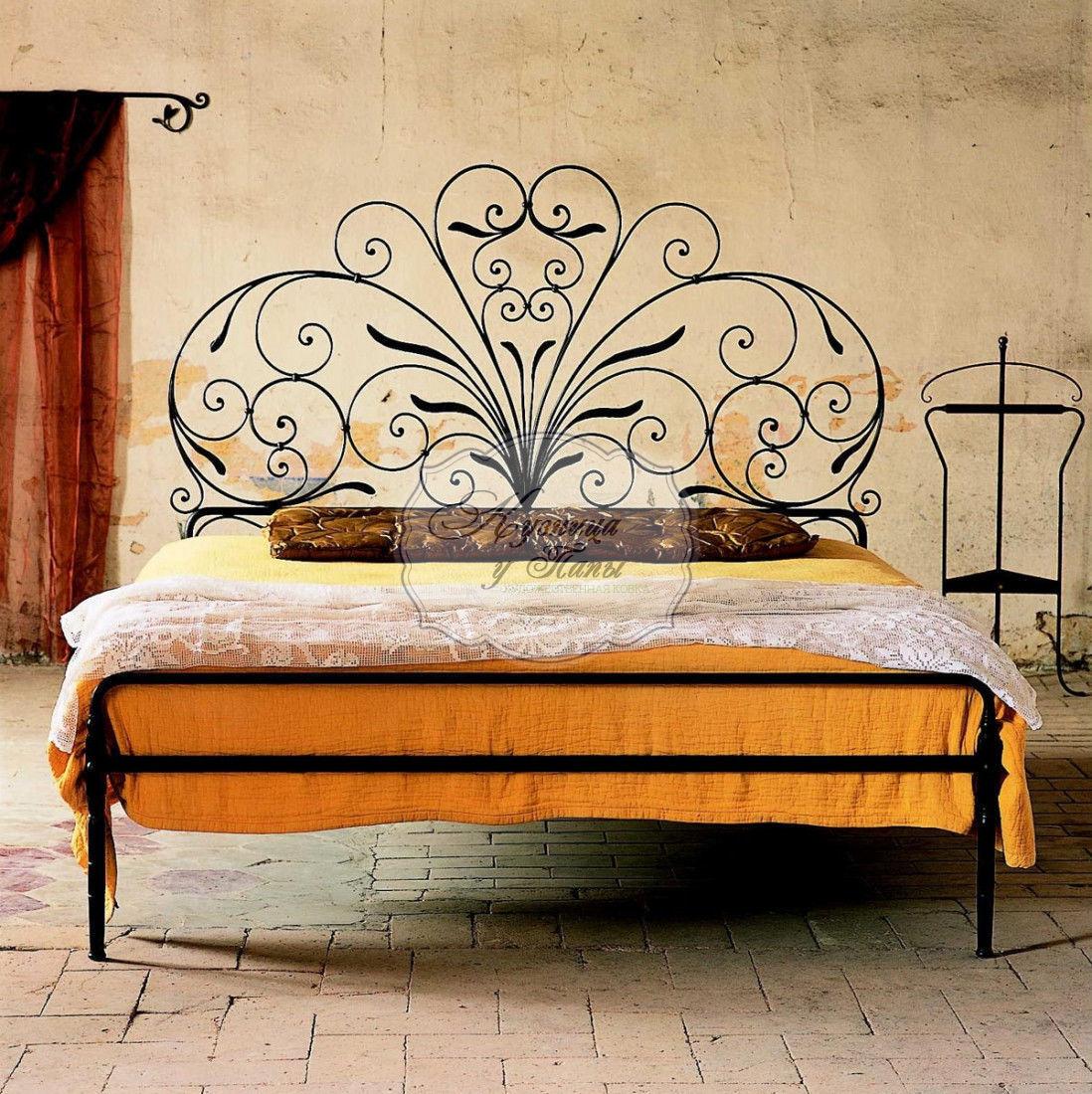 Кованная кровать своими руками