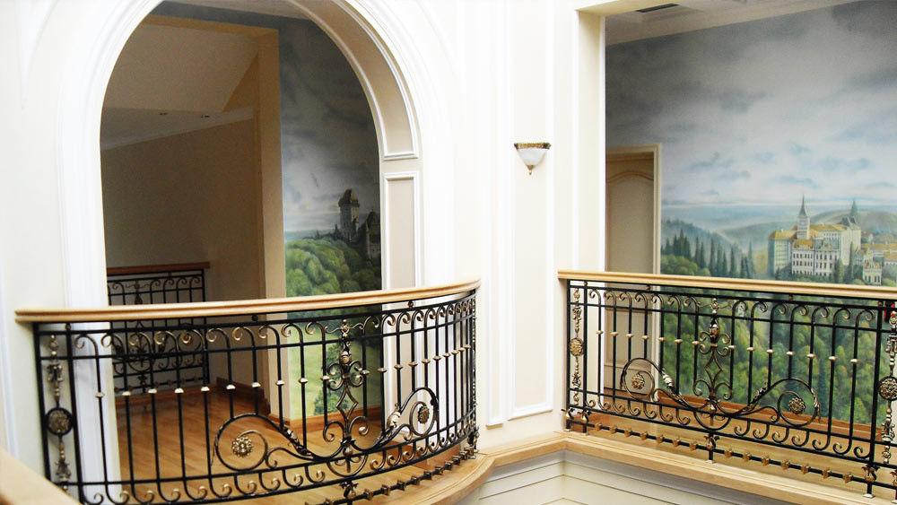 кованые ограждения для перил балконов фото привлекает